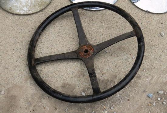 (1) Original DeSoto Steering Wheel.
