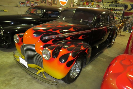 1940 Chevrolet Model 2-Door Master Special Deluxe Custom Coupe,  VIN# 3KA11