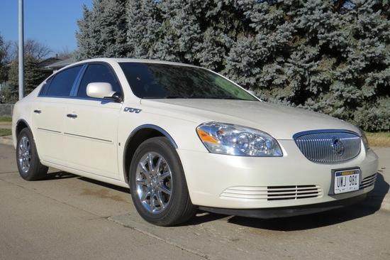 2008 Buick Lucerne CXL 4-Door Sedan, VIN# 1G4HD572X8U179403, 23,498 Actual