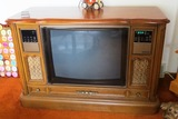 Curtis Mathes TV with Entertainment System & Built-In Radio.