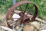 Steel Implement Wheel.