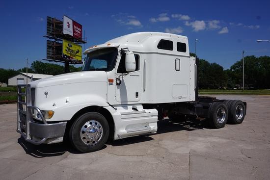 2007 International Model 9400i Eagle SBA 6x4 Tandem Axle Conventional Truck Tractor, VIN# 2HSCNAPR17