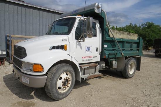 2008 Sterling Model Acterra Single Axle Dump Truck, VIN#2FZACFDT78A247994, Cummins Turbo Diesel Eng.