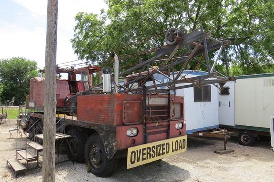 Loraine Moto-Crane MC-325 HD Conventional Boom Truck Crane, Cummins Upper & Lower Diesel Wauhesha Ga