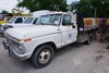 1977 Ford Model F-350 1-Ton Custom Flatbed Pickup, VIN#F375R028504, AC & Heat, V-8 Gas, 4-Speed, 135
