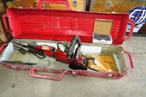 ICS Hydraulic Drive Chain Saw with Case.
