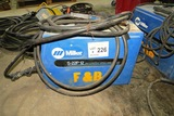 Miller Model S-22P12 24V Constant Speed Wire Feed Welder with Leads & Gun.