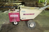 Whiteman Multiquip Model WBH-16 Power Concrete Buggy, Honda 11HP Gas Engine.