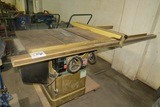 Powermatic III Model 66 Industrial Electric Table Saw, SN# 94662374, 3HP Electric Motor, T-Square Sa