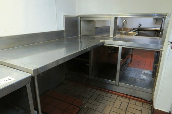 Large Stainless Steel Dishwashing System, Spray Wand with Commercial Stainl