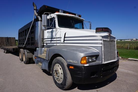 1988 Kenworth Model T600A Conventional Tandem Axle Dump Truck, VIN# 1XKAD29X4JJ518990, Cummins 855 T