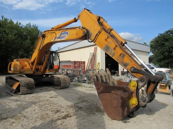 1997 Samsung Model SE280LC Hydraulic Track-type Excavator, SN #HBY1535, Cummins Turbo Diesel Engine,