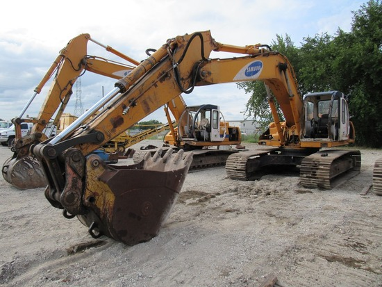 Samsung Model SE280LC Hydraulic Track-type Excavator, SN# AAY2170, Cummins Turbo Diesel Engine, Hydr
