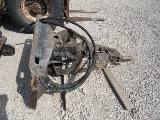 Bobcat Model B-950 Hydraulic Concrete Breaker Attachment for Skidloaders, SN# 797012908