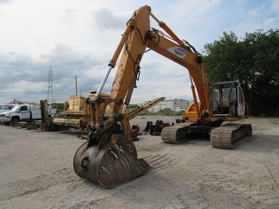 1994 Samsung Model SE210LC Hydraulic Track-type Excavator, SN# FAY2734, Turbo Diesel Engine, Hydrosh