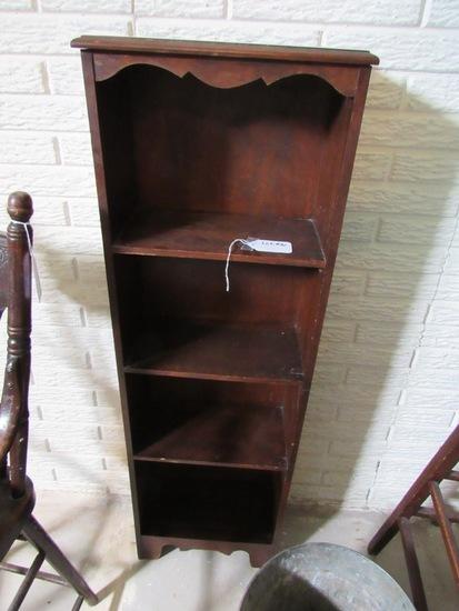 Small Oak Bookcase.