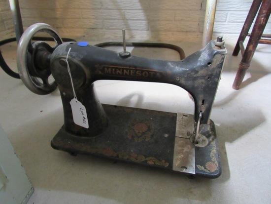 Antique Minnesota Sewing Machine.