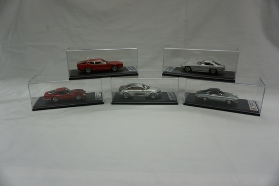 (5) Look Smart 1:43 Scale Models in Boxes: Lamborghini 3500 GTZ, Audi Nuvol