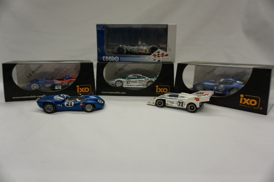 (6) Various Brands 1:43 Scale Models in Boxes: Dome S101, (2) Unmarked, Sal