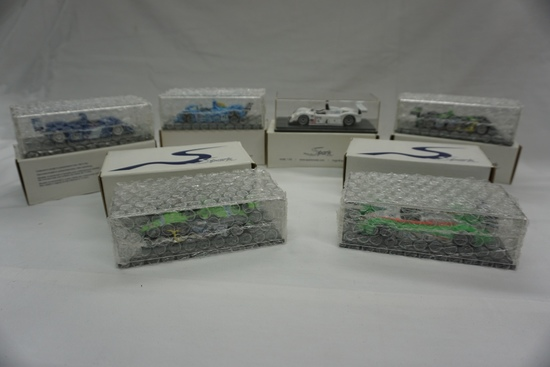 (6) Spark Brand 1:43 Scale Models in Boxes (Several Still Bubble Wrapped):