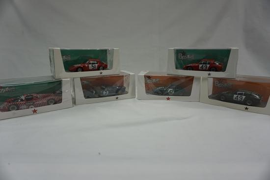 (6) Bizarre Brand 1:43 Scale Models in Boxes: Deep Sanderson, Austin Healey
