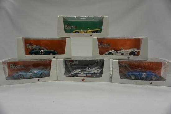 (6) Bizarre Brand 1:43 Scale Models in Boxes: Ford GT40, Deep Sanderson, Li