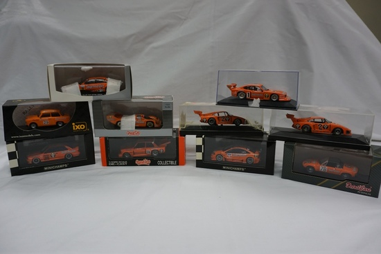 (10) Various Brand 1:43 Scale Models in Boxes (All Advertising Jagermeister