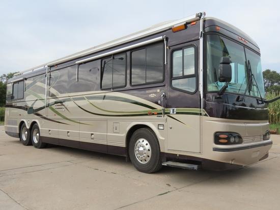 2001 Blue Bird Model Wanderlodge LX Millennium Edition 41' Luxury Motor Coach, VIN# 1BBCNBJ841F099