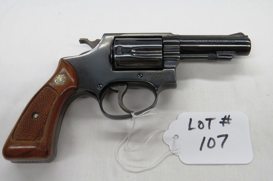 "Smith & Wesson Model 36-1 Revolver, SN# 1784670, .38 Special Caliber, (Mfg. 1981), 3"" Barrel, Origin"