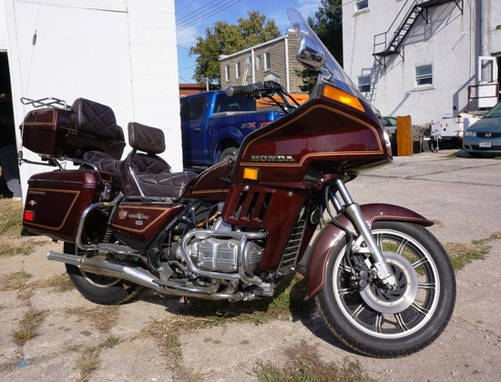 1983 Honda Model 1100 Gold Wing Motorcycle, VIN# 1HFSC0216DA317695, 20,264 Actual Miles (Recently ha