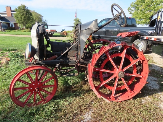 Model T Tractor Conversion with Shaw Manufactured Conversion, 22HP.