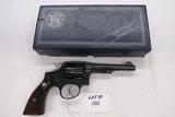 Smith & Wesson Revolver, SN# S992622, .38 Special Caliber, (Mfg. 1947), 5