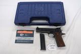 Colt Model 1911 Semi-Auto Pistol, SN# 57603, .22 Long Rifle Caliber, 8-Shot Clip, Colt Box, Owner's