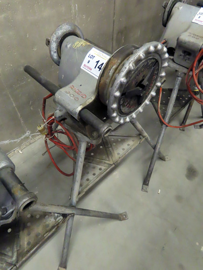 Ridgid Model 300 Electric Pipe Threader on Stand.