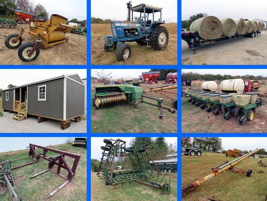 Large Hay Equipment Estate Auction