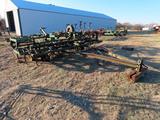 John Deere Model 1100 24' Pull-Type Field Cultivator (Has Flat Tires).