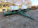 John Deere Model 7000 8-Row Narrow Planter, (2) 100 Gallon Liquid Fertilize