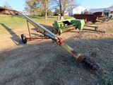 "Westfield MR 80-31 31' x 8"" PTO Drive Auger, Cable Lift."