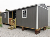 10'x 32' Portable Office, Wood Framed, Electric Outlets & Lights, Combinati