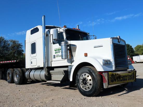 2000 Kenworth Model W-900L Conventional Tandem Axle Truck Tractor, VIN #1XKWDR9X41J869641, Detroit 1