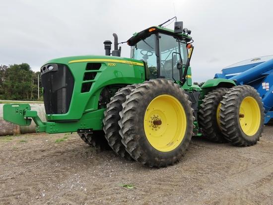 2011 John Deere Model 9230 4WD Diesel Tractor, SN #1RW9230TAAP019295, John Deere Turbo Diesel Engine