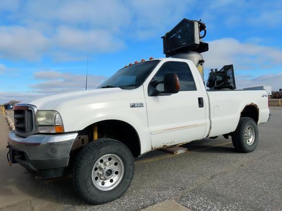 2003 Ford F-350 XLT Pickup, 6.0 Liter Power Stroke Turbo Diesel Engine, Automatic Transmission, 4x4,