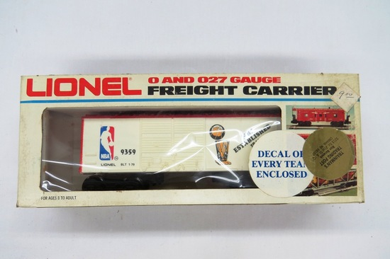 Lionel O & O27 Gauge Freight Carrier, NBA Basketball Car, #6-9359 in Origin