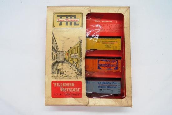 "TM (Train Miniature) ""Billboard Nostalgia"" Collector's Series, Produce Ship"