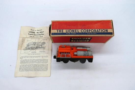 Lionel Track Cleaning Car, Item #3927-51 in Original Box.