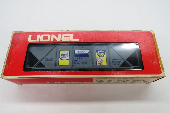 Lionel Domino Hopper Car, Item #6-9116 in Original Box.