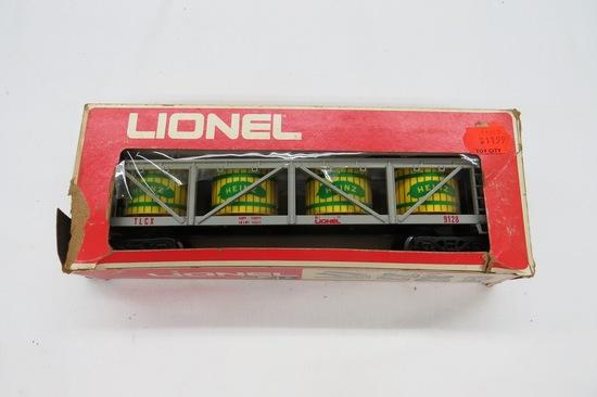 Lionel Heinz Pickle Car, Item #6-9128 in Original Box.