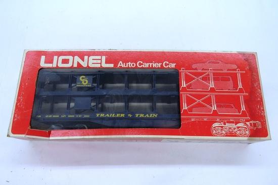 Lionel Automobile Carrier Car, Item #6-9123 in Original Box.