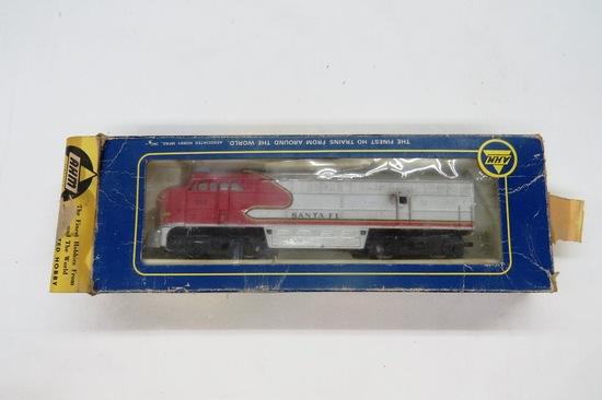 AHM Brand - Santa Fe Fairbanks Morse Diesel Locomotive, Item #5054E in Orig