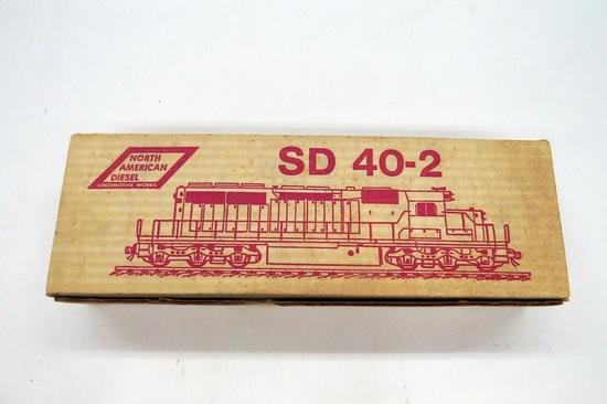 North American Diesel, SD 40-2 Locomotive in Original Box.